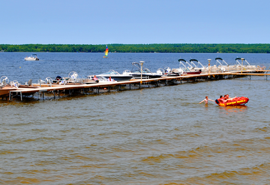 Curtis, MI - Curtis Big Manistique Lake, South Manistique Lake, Upper Peninsula, Lake Complex, Waterfront, Fishing, Summer