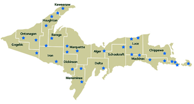 Curtis Mi Maps Atv Map Lake Maps Interactive Maps