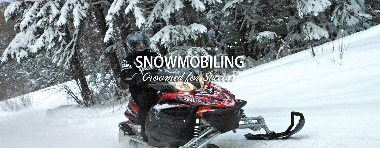 Curtis Michigan And The Manistique Lakes Area Snowmobiling