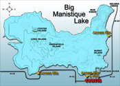 Big Manistique Lake